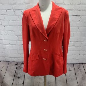 Les Copains Red long Sleeve Blazer